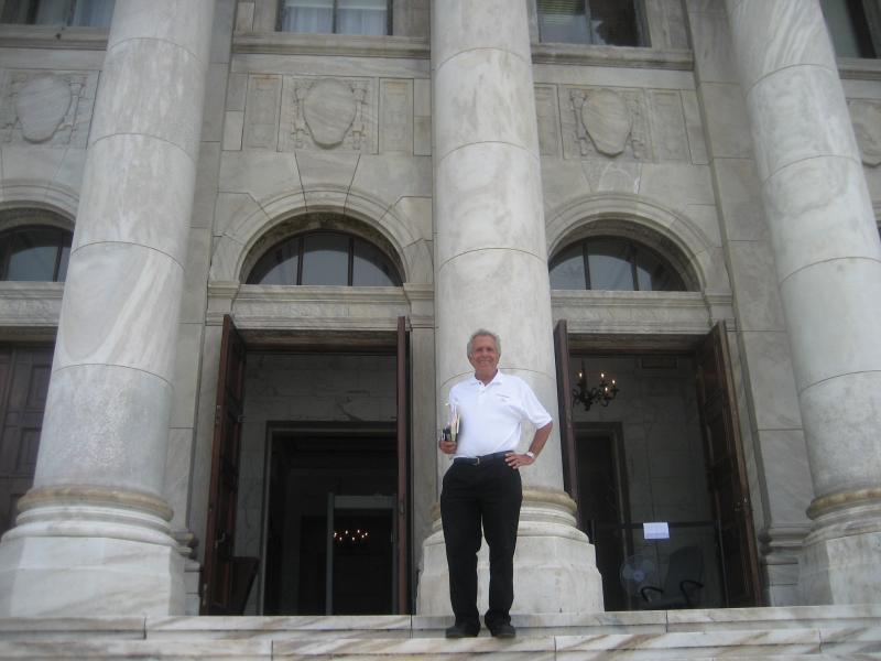 Martin at the Capitolio in October 2010